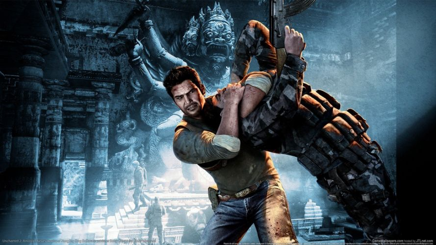 video games Uncharted Nathan Drake Uncharted 2 wallpaper