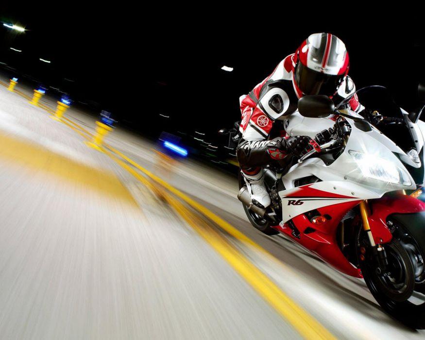 Yamaha race vehicles motorbikes Yamaha R6 wallpaper