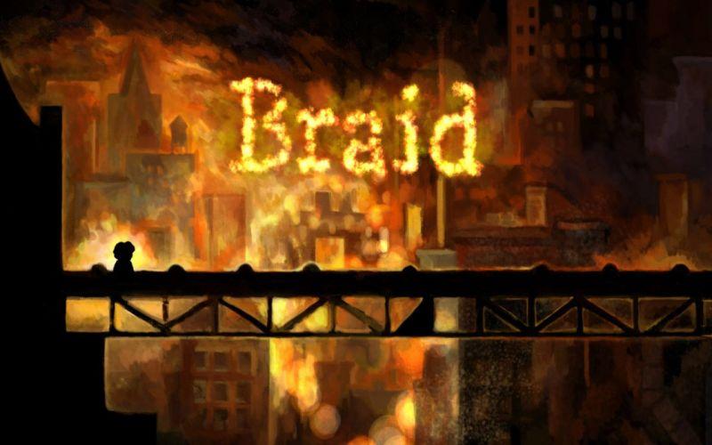 video games Braid (video game) wallpaper