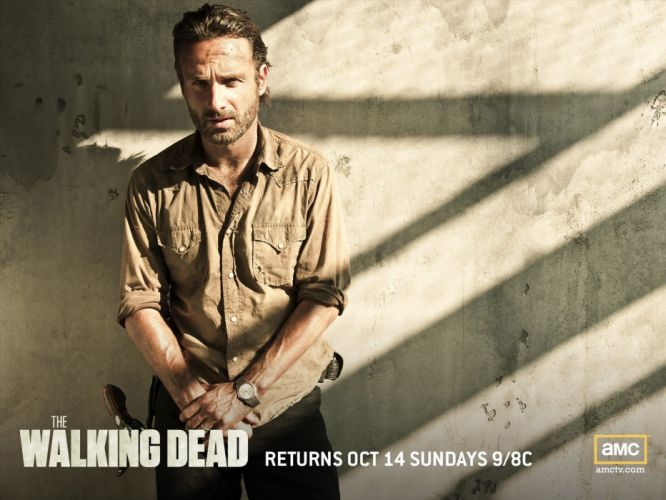 movies Walking Dead The Walking Dead Rick Grimes Andrew Lincoln TV shows wallpaper