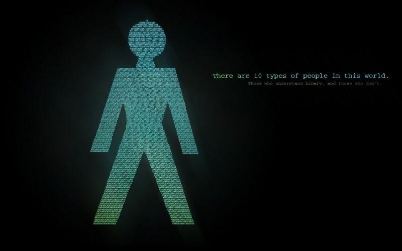 computers nerd technology binary jokes cypher66 wallpaper