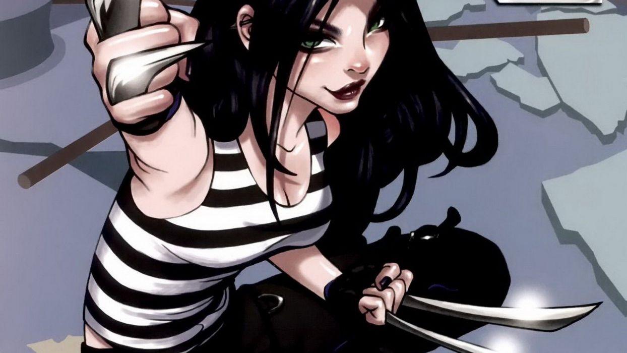 comics Marvel Comics comics girls X-23 wallpaper