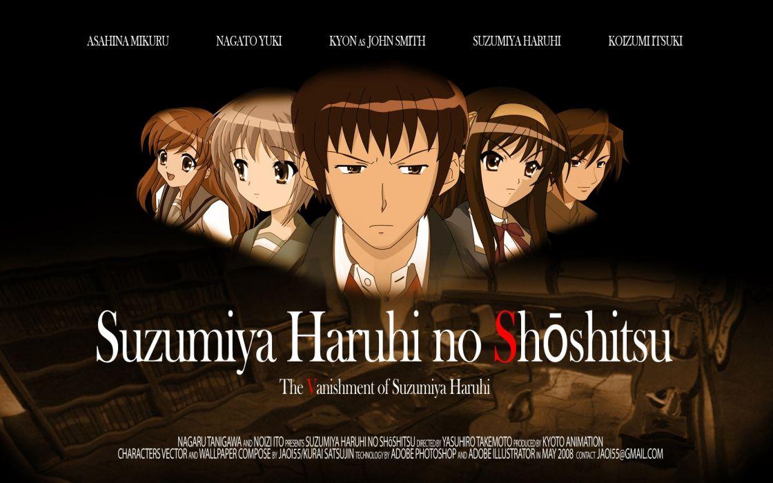 Suzumiya Haruhi wallpaper