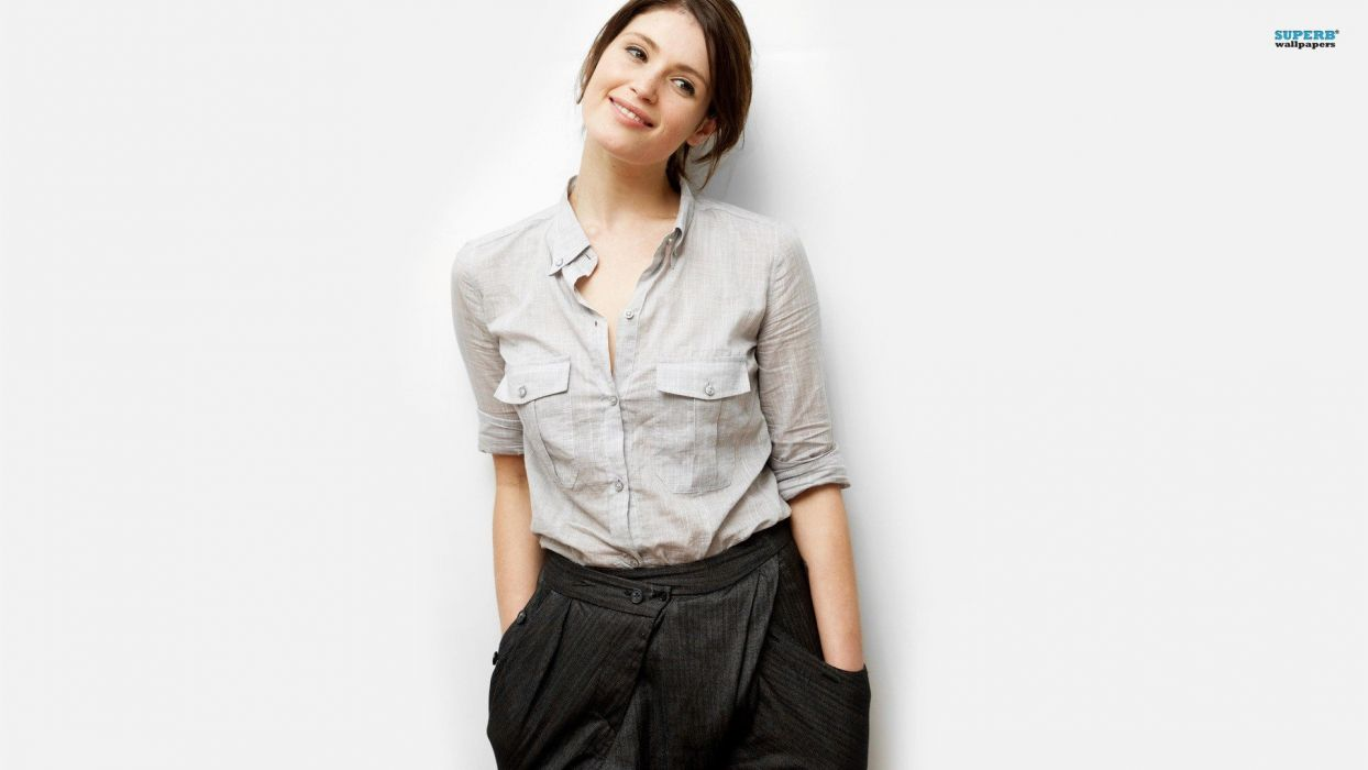brunettes women actress celebrity Gemma Arterton wallpaper