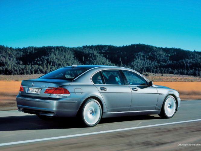 cars BMW 750Li wallpaper