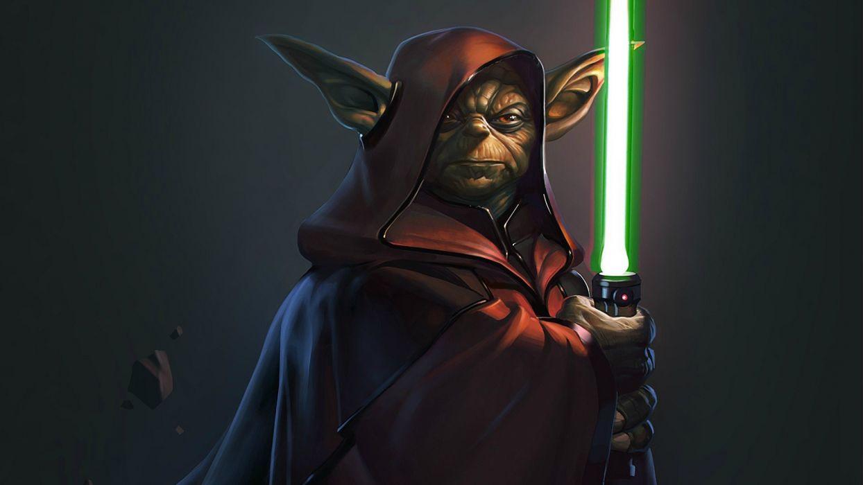 Star Wars Yoda Wallpaper 1920x1080 264191 Wallpaperup