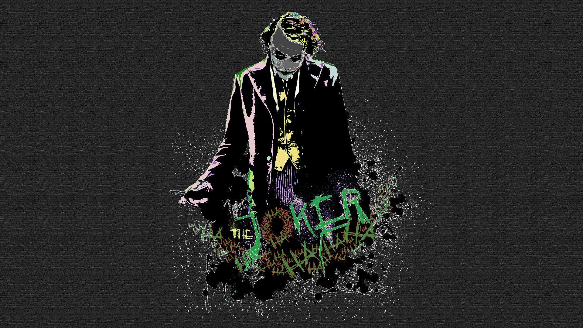 Batman The Joker Heath Ledger Wallpaper
