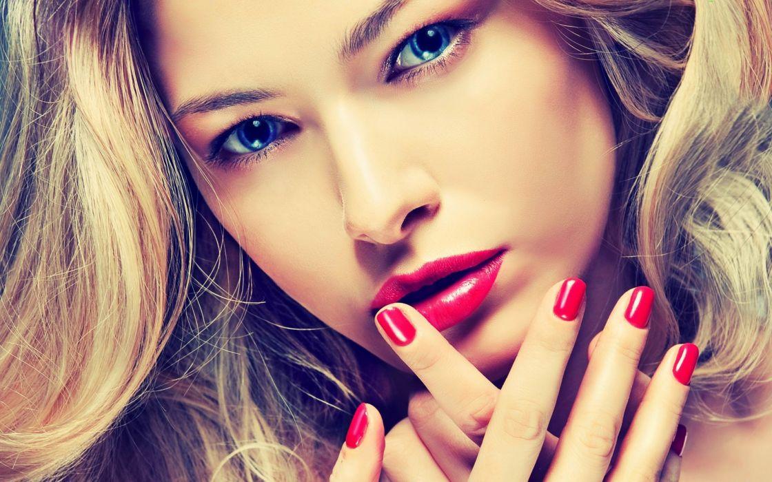 blondes women models wallpaper