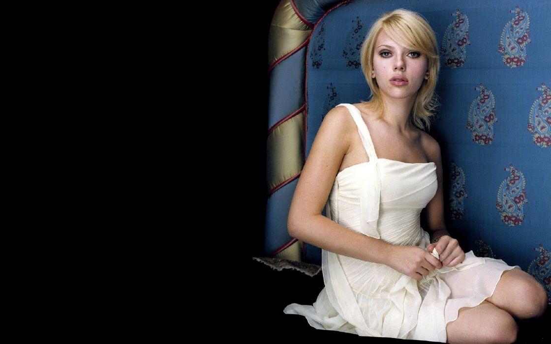 blondes women Scarlett Johansson actress models wallpaper