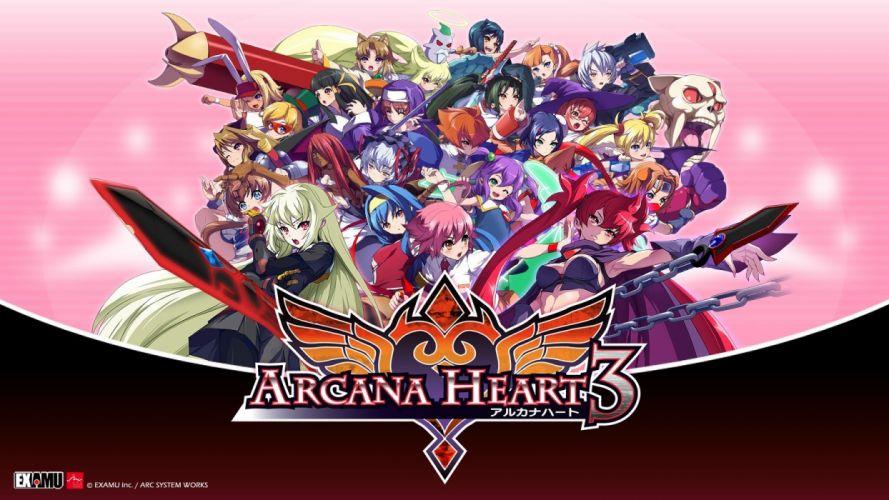 Arcana Heart 3 wallpaper