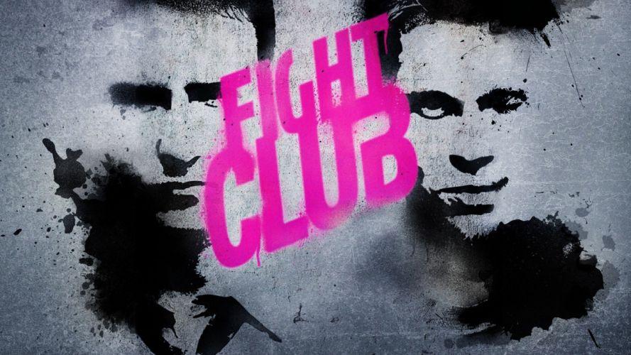 movies Fight Club Brad Pitt Edward Norton Tyler Durden T_O_P wallpaper
