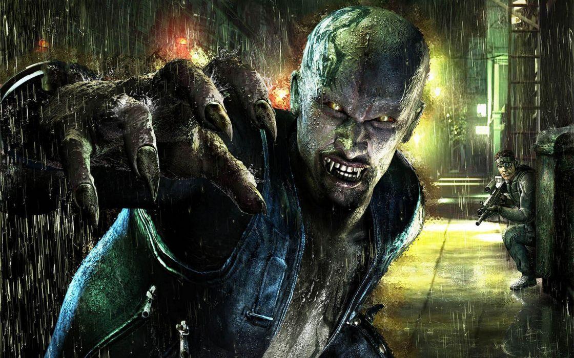 fantasy rain fantasy art vampires digital art wallpaper