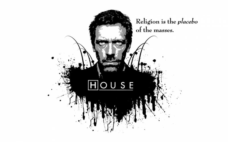 quotes religion House M_D_ white background wallpaper