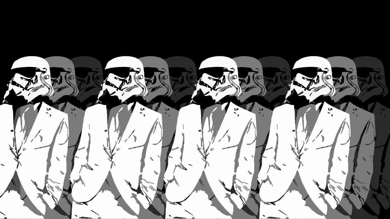 Star Wars minimalistic classy class gerarc wallpaper