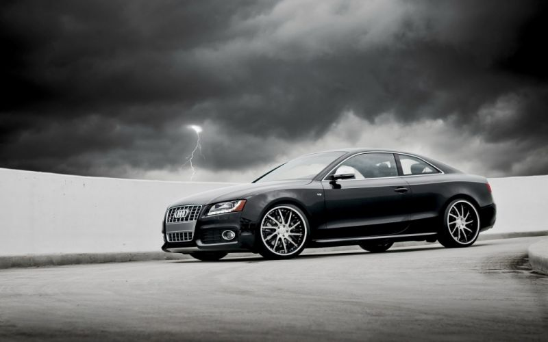 cars grayscale Audi S6 wallpaper