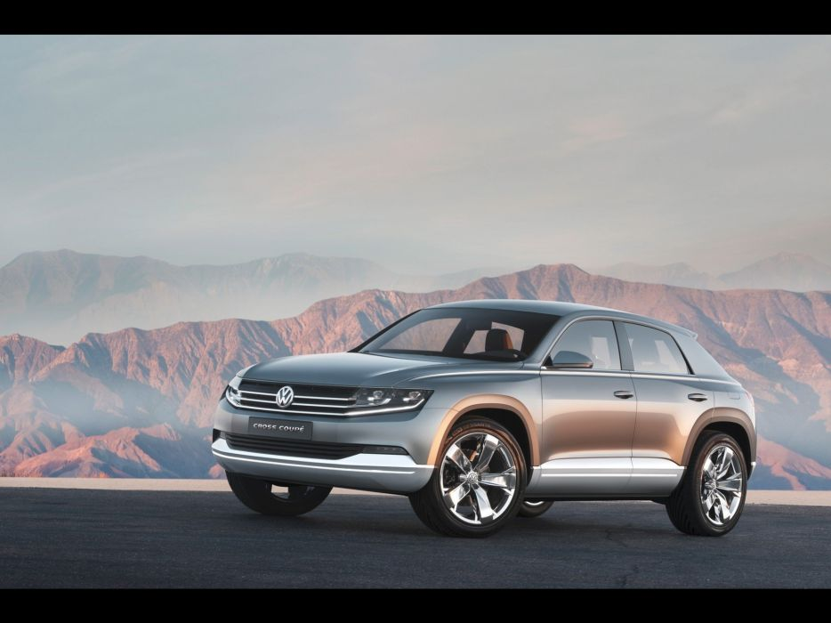 cross cars front concept art coupe Volkswagen Cross Coupe Concept wallpaper