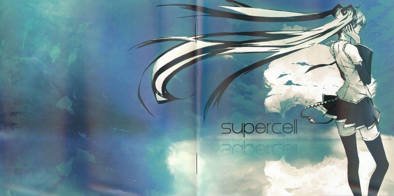 Vocaloid Hatsune Miku Thigh Highs Supercell Album Covers Detached Sleeves Wallpaper 00x994 Wallpaperup