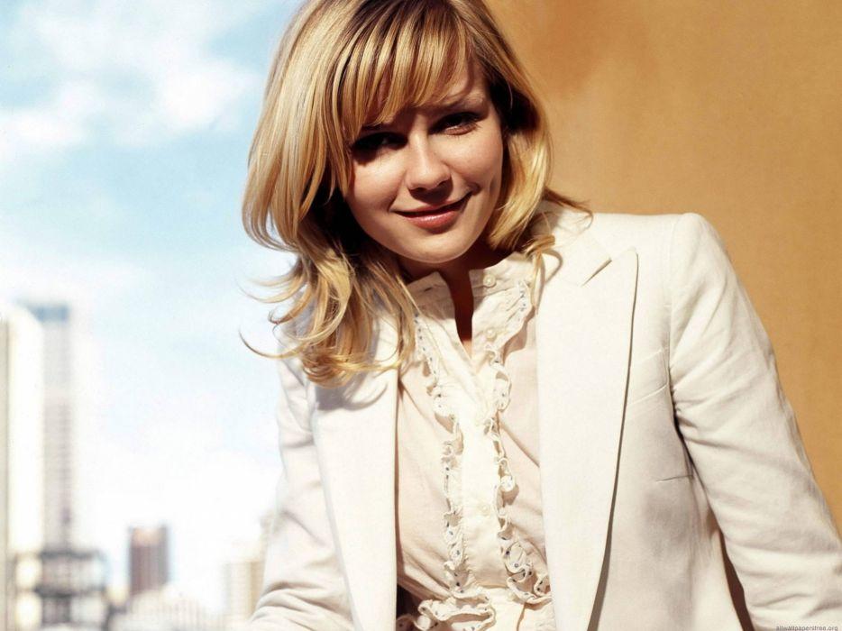 women models Kirsten Dunst wallpaper