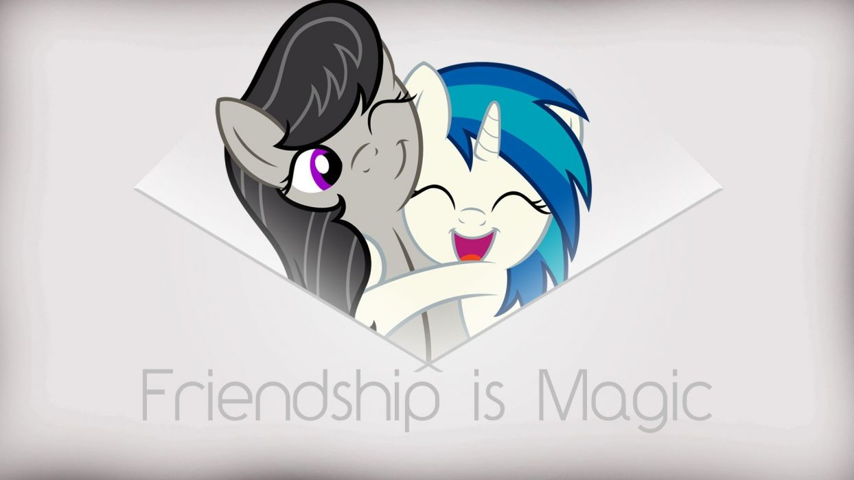 Vinyl Scratch DJ Pon-3 Octavia My Little Pony: Friendship is Magic scratch wallpaper