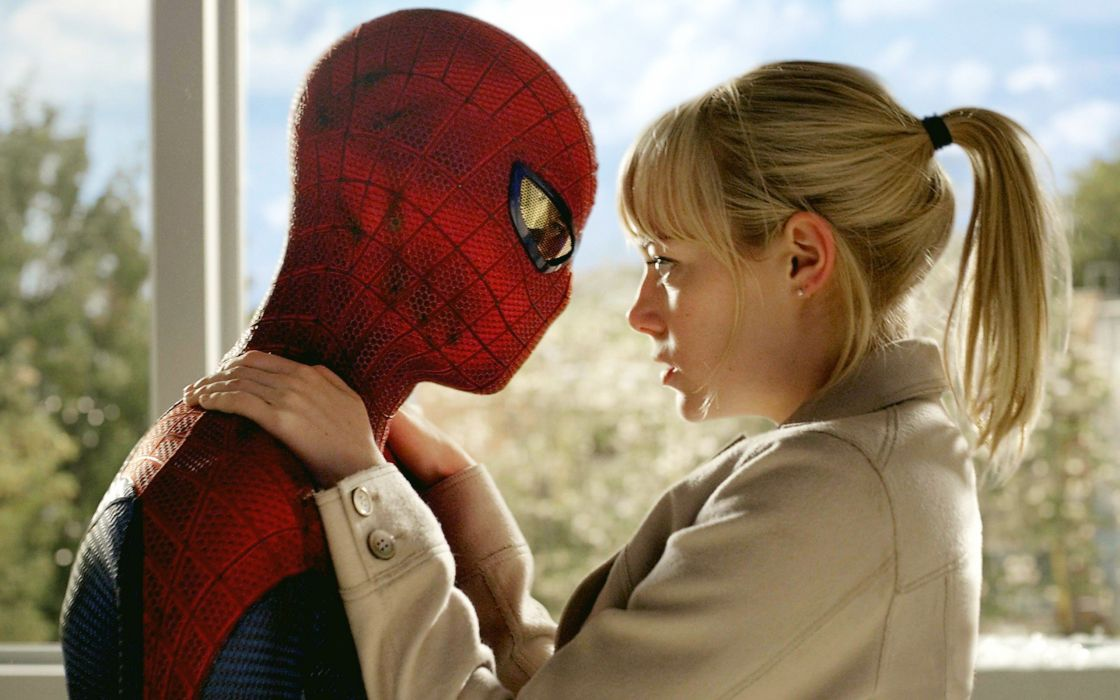 women movies Emma Stone Gwen Stacy The Amazing Spider-man wallpaper