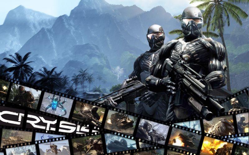 Crysis Crysis 2 Crysis 3 game wallpaper