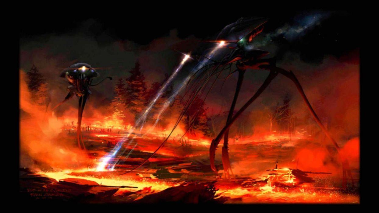 WAR OF THE WORLDS adventure thriller sci-fi wallpaper