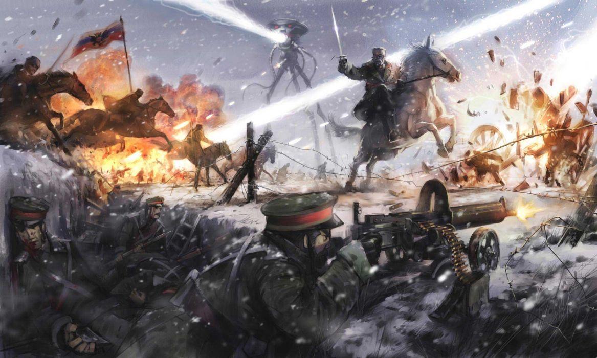 War Of The Worlds Adventure Thriller Sci Fi Wallpaper 2000x1200