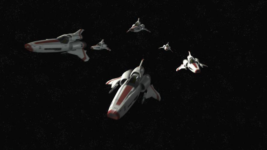 BATTLESTAR GALACTICA action adventure drama sci-fi spaceship wallpaper