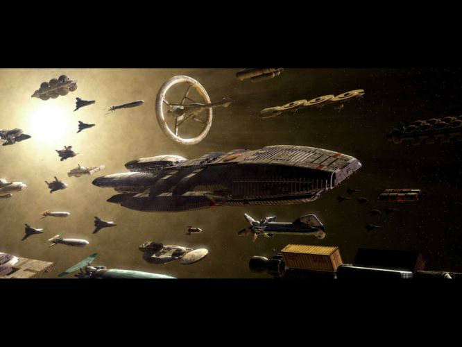 BATTLESTAR GALACTICA action adventure drama sci-fi spaceship wallpaper