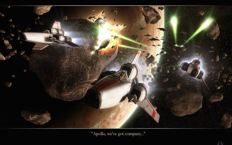 BATTLESTAR GALACTICA action adventure drama sci-fi spaceship poster wallpaper