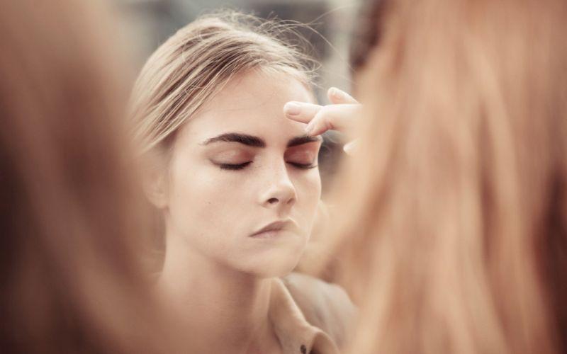 blondes women teen Burberry Cara Delevingne body models behind the scenes wallpaper