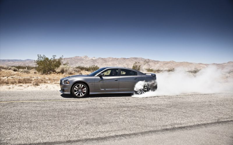 cars deserts muscle cars silver Dodge Charger wallpaper