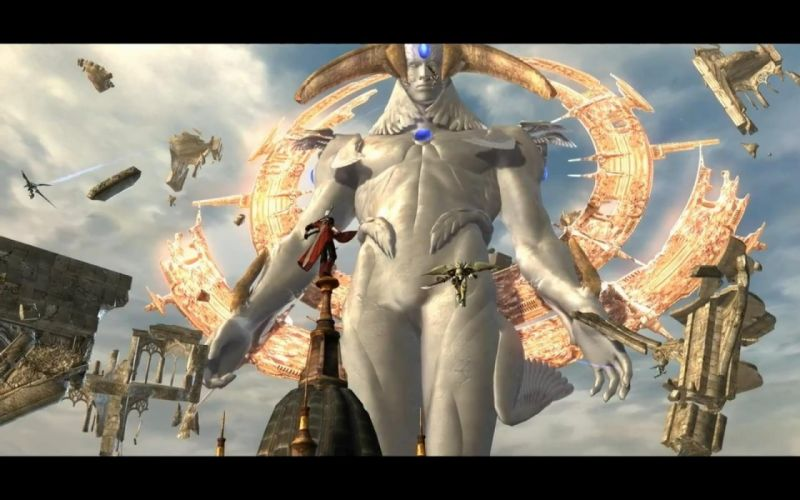angels wings God Devil May Cry armor crystals Dante dmc wallpaper
