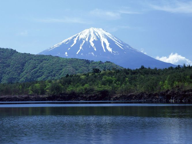Japan mountains landscapes nature wallpaper