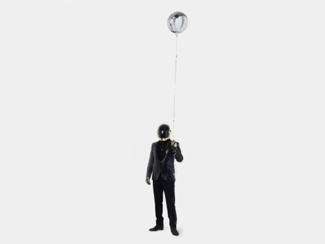 Daft Punk balloons simple background white background wallpaper