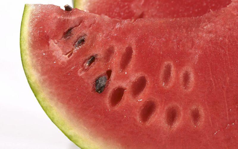 fruits watermelons macro berries white background wallpaper