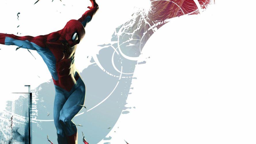 comics Spider-Man illustrations Marvel Comics wallpaper
