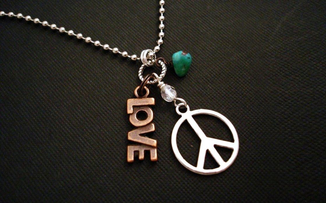 love peace hippie necklaces peace sign wallpaper