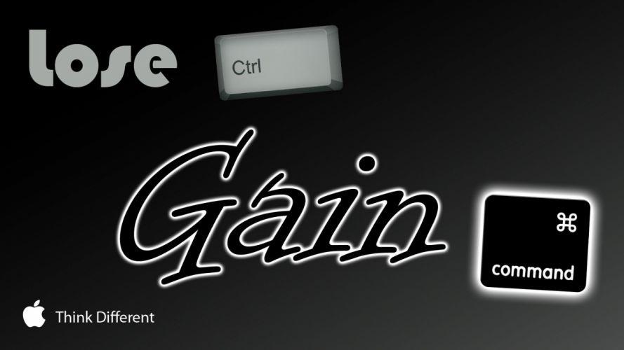 Apple Inc_ ctrl alt del think different command shortcuts control wallpaper