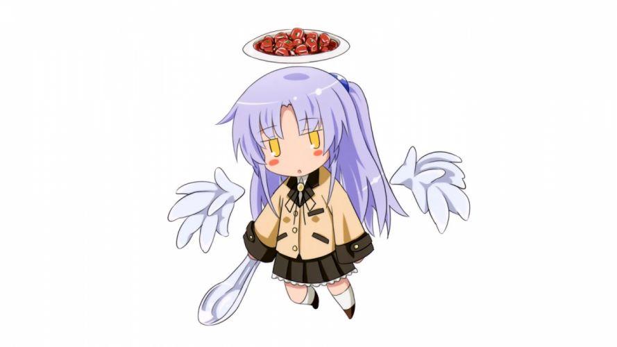 Angel Beats! Tachibana Kanade anime simple background wallpaper