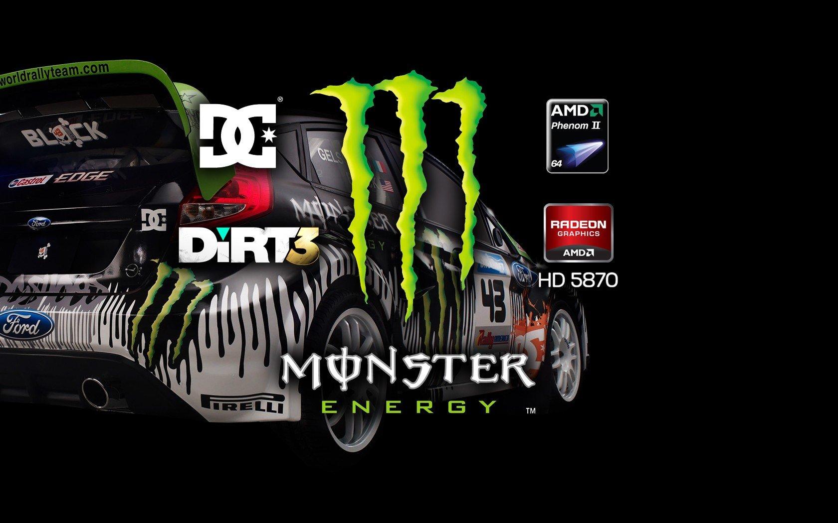 video games cars ken block ati radeon codemasters amd dirt 3 monster