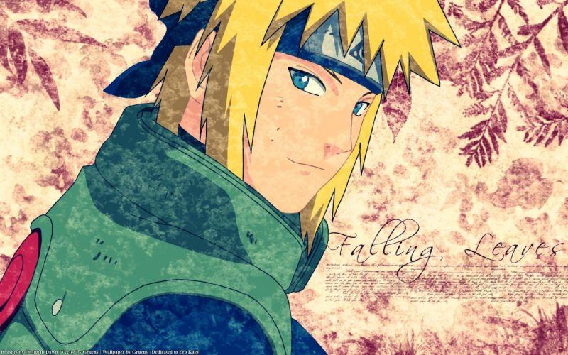 Naruto: Shippuden Minato Namikaze shinobi Hokage wallpaper