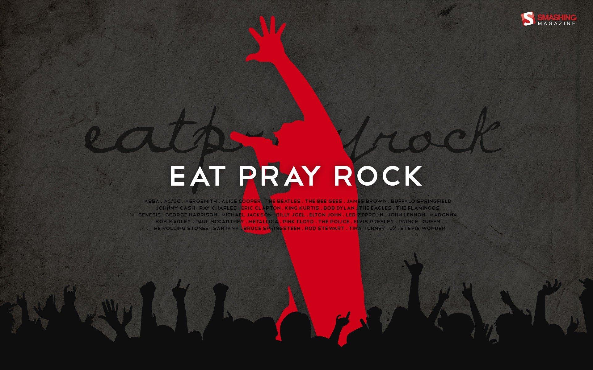 Rock Music Wallpaper: Silhouettes Rocks Rock Music Backgrounds Smashing Magazine