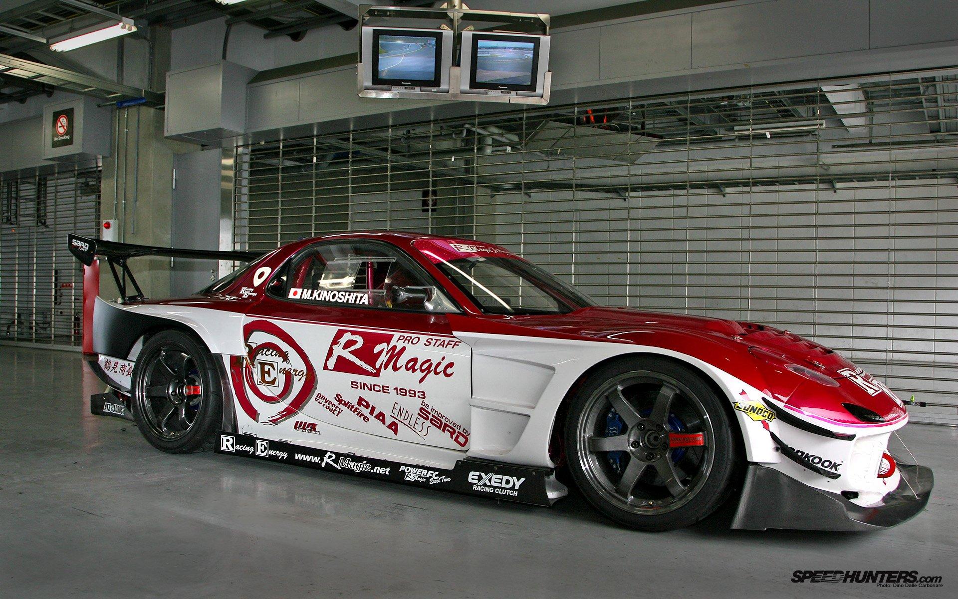 Cars vehicles Mazda RX-7 Rotary engine wallpaper ...