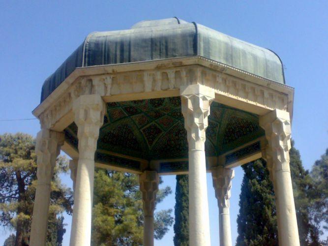 Iran historic poetry literature shiraz Tomb of Hafez wallpaper