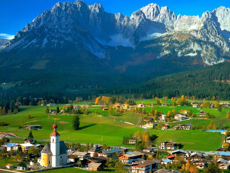 mountains landscapes nature Austria tyrol wallpaper