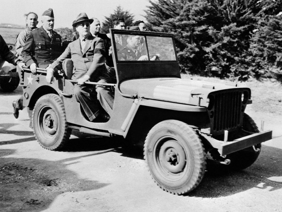 1942 Willys M-B Jeep military 4x4 retro     g wallpaper