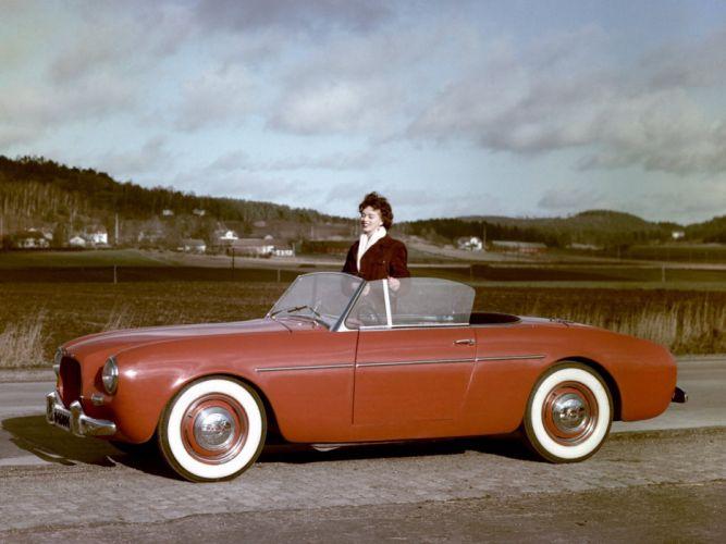 1954 Volvo P1900 Sport Prototype retro convertible g wallpaper