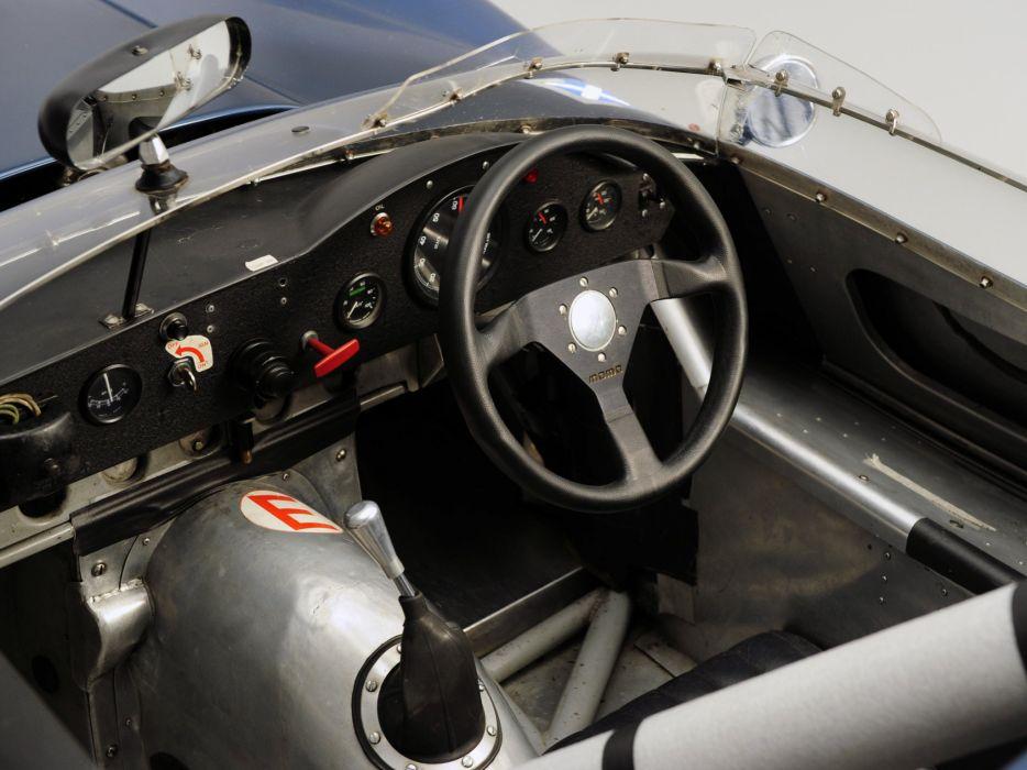 1959 Tojeiro Jaguar Sports Racer race racing retro rally interior    h wallpaper