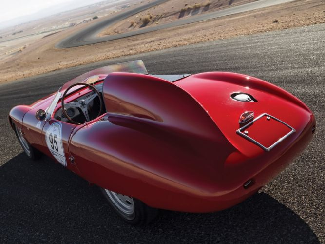 1960 OSCA 750 s race racing jaguar classic gd wallpaper